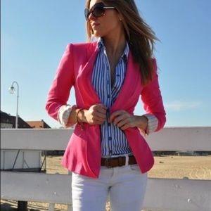 H&M fuschia blazer